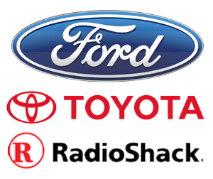 Ford Toyota and Radio Shack Class Action Lawsuits